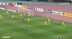 Ulsan were held to a 1-1 draw at basement boys Gwangju. DUGOUT