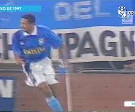 Jorge Soto sent Sporting Cristal into the 1997 Copa Libertadores quarter-finals. DUGOUT