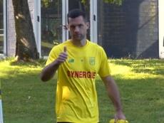 VIDEO: The latest FC Nantes training session in la jonelière. DUGOUT