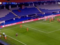 Moise Kean scored twice in PSG's 0-2 win over Basakesehir in Turkey. DUGOUT
