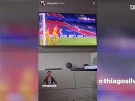 Confinamento de Thiago Silva e atletas do PSG. DUGOUT
