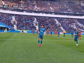 Azmoun scored a hat-trick for Zenit. DUGOUT