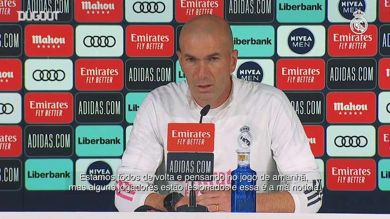 Zidane fala sobre Villarreal, Sérgio Ramos e calendário extenso. DUGOUT