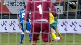 Fortuna Sittard's goals from November 2020. DUGOUT