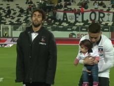 Valdivia atuou durante três anos no Colo-Colo. DUGOUT