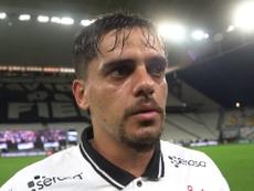 Fagner concedeu entrevista após goleada sobre o Fluminense. DUGOUT