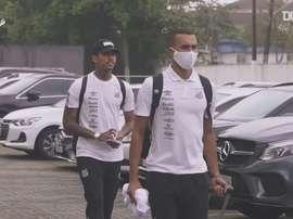 Santos desembarca no Paraguai para duelo contra o Olimpia na Libertadores. DUGOUT