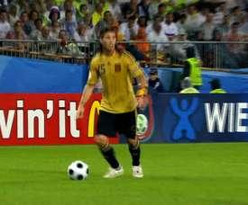 Dani Guiza scored for Spain in the Euro 2008 semi-final. DUGOUT