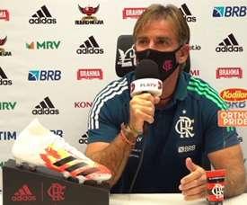 Jordi Gris concedeu entrevista após a vitória sobre o Athletico Paranaense. DUGOUT