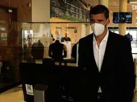 L'arrivée de Ruben Dias à Manchester City. dugout
