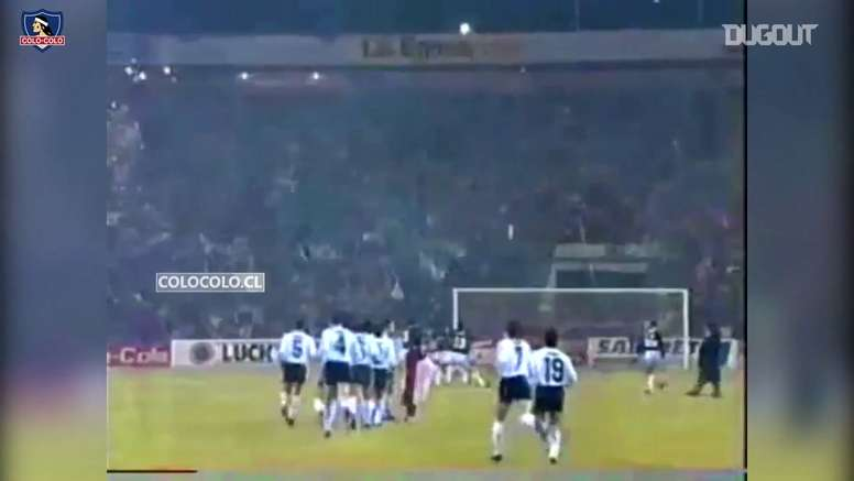Colo-Colo ganó en 1991 su, hasta ahora, única Libertadores. Dugout