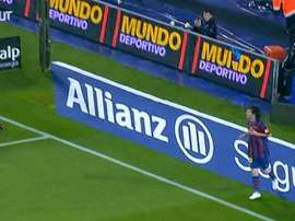 Messi and Barcelona were too strong for Tenerife at the Camp Nou. DUGOUT