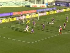 Vidal's first Inter goal. DUGOUT