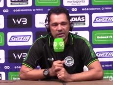 Glauber Ramos contou motivou o Goiás pela virada sobre o Santos. DUGOUT