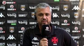Alexandre Grasseli diz que ausências por covid-19 pesaram no Vasco. DUGOUT