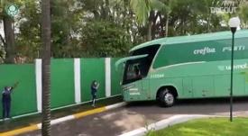 Palmeiras deixa Academia de Futebol rumo ao Rio de Janeiro. DUGOUT
