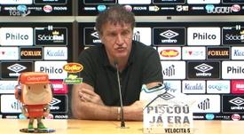 Cuca fala da escolha de Marinho como capitão do Santos. DUGOUT