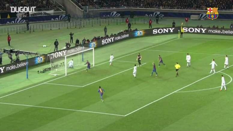 Video Relembre A Goleada Do Barcelona Sobre O Santos No Mundial De 2011 Besoccer