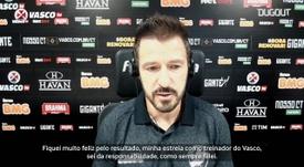 Ramon analisa estreia e primeira vitória como técnico do Vasco. DUGOUT