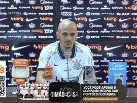 Fábio Santos elogia Cássio. DUGOUT
