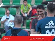 Fernando Hierro treina Espanha para Copa de 2018. DUGOUT