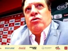 Miguel Herrera analizó la derrota ante León. DUGOUT