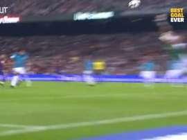 Pedro scored against Almería. DUGOUT