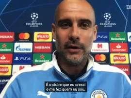 Guardiola nega motivação especial por enfrentar o Real Madrid. DUGOUT