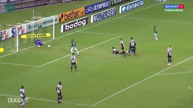 Veja os gols do Goiás no empate com o Ceará. DUGOUT