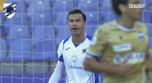 Emil Audero made a sensational stop to deny SPAL at Sampdoria. DUGOUT