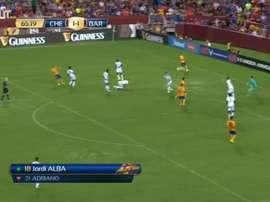 Así fue el golazo de Sandro ante el Chelsea. DUGOUT