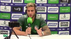 Rafael Moura diz que prioridade é manter Goiás na Série A. DUGOUT