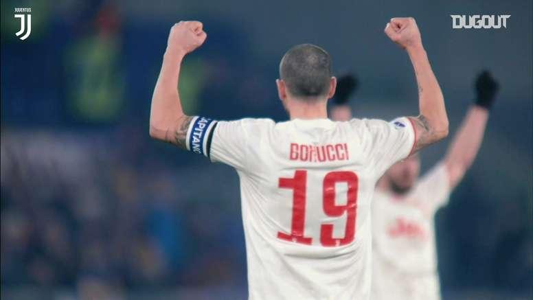 Il meglio di Bonucci. Dugout