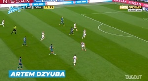 Zenit's best goals of 2020. DUGOUT
