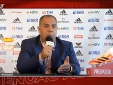 Marcos Braz falou sobre Torrent. DUGOUT
