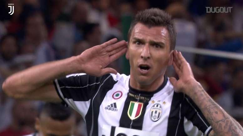 Mandzukic scored a fantastic goal for Juventus in the 2017 Champions League final. DUGOUT