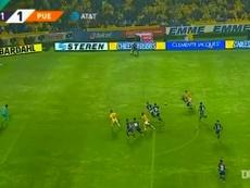 VÍDEO: así fue el doblete de Vargas en el 6-1 de Tigres ante Puebla. DUGOUT