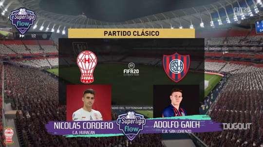 Cordero y Gaich se enfrentaron en el FIFA. DUGOUT