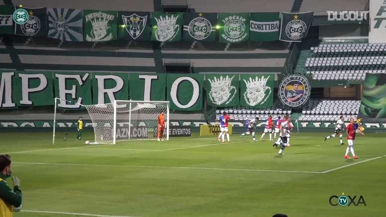 Coritiba won 2-1. DUGOUT