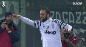 Juventus won 2-0 against Crotone in 2017. DUGOUT