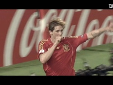 Fernando Torres scored the only goal in the Euro 2008 final. DUGOUT