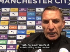Rodgers spoke about Vardy. DUGOUT