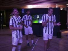 Bastidores da festa da Juventus pela conquista do Italiano de 2019/20. DUGOUT