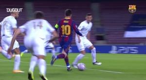 Résumé Barcelone 5-1 Ferencváros. Dugout