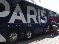 Paris Saint-Germain virou de forma relâmpago a partida contra a Atalanta. DUGOUT