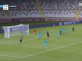 Al-Wahda 6-0 Hatta. DUGOUT