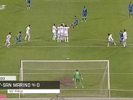 Italy have scored some brilliant free-kicks. DUGOUT