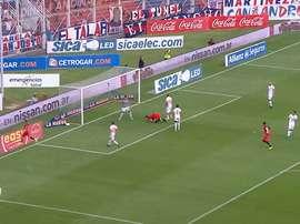 Adolfo Gaich goals with San Lorenzo. DUGOUT
