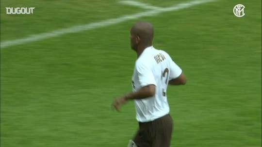 Maicon scored for Inter. DUGOUT