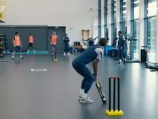 VÍDEO: Bale y el Tottenham cambian el golf por el críquet. Captura/Dugout
